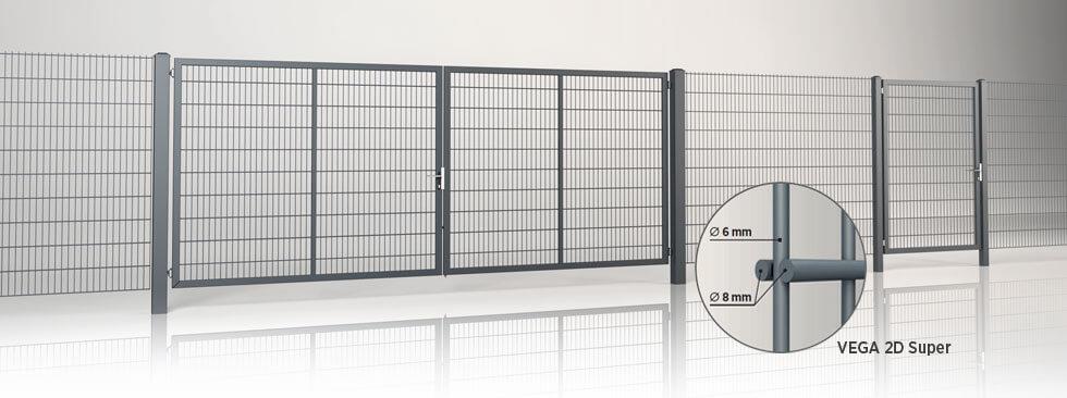 system-ogrodzeniowy-gardia-panel-vega-2d-super-wisniowski